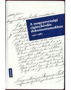 A magyarországi cigánykérdés dokumentumokban 1422-1985 - Mezey Barna, Pomogyi László, Tauber István