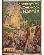 Máriabesnyói zarándok naptár 1941 - P.Bögözy Vilmos