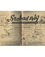 Szabad száj II. évf. 9. szám, 1947. március 1. - Király DEzső