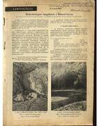 Hidrobiológiai vizsgálatok a Hámori-tavon - Berczik Árpád