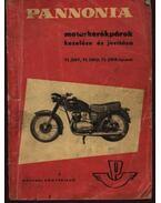 Pannonia motorkerékpárok kezelése és javítása TL 250F, TL 250D, TL 250B típusok - Balogh Gyula, Wohlmuth Emil