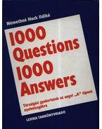 1000 Questions 1000 Answers - Némethné Hock Ildikó