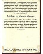 Theologisches Jahrbuch 1980 - Hübner,Siegfried, Ernst,Wilhelm, Feiereis,Konrad, Reindl, Joseph