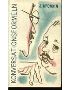 Konversationsformeln - Afonkin, J.