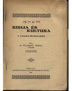 Biblia és kultura - Feldmann Sámuel