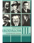 Irodalom III. - Magyar Tünde