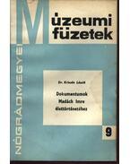 Dokumentumok Madách Imre élettörténetéhez - Krizsán László