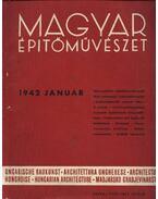Magyar Építőművészet 1942. január - Vitéz Irsy László (szerk.)