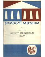 Berzsenyi emlékmúzeum Niklán - Sára Péter
