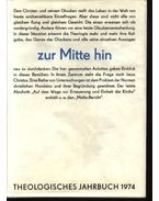 Theologisches Jahrbuch 1974 - Hübner,Siegfried