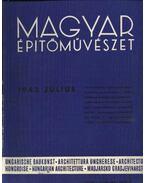 Magyar Építőművészet 1942. július - Vitéz Irsy László (szerk.)