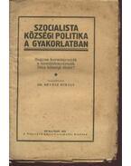 Szocialista községi politika a gyakorlatban - Révész Mihály