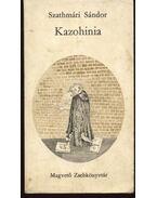 Kazohinia - Szathmári Sándor