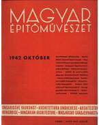 Magyar Építőművészet 1942. október - Vitéz Irsy László (szerk.)