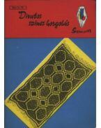 Divatos színes horgolás - Németh Istvánné