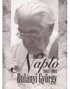 Napló 2002-2003 - Bulányi György