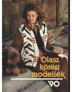 Olasz kötött modellek '90 - Kígyós Erzsébet