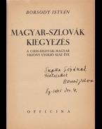 Magyar–szlovák kiegyezés. - Borsody István