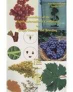 Proceedings of the 8th International Conference on Grape Genetics and Breeding Volume 1. - Botos Ernő Péter