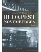 Budapest novemberben - Kondor Vilmos