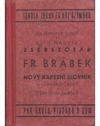 Új magyar-cseh és cseh-magyar zsebszótár - Brábek Ferenc