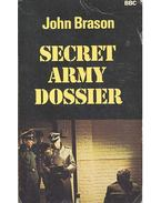 Secret Army Dossier - BRASON, JOHN