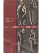 Kalendergeschichten - Brecht, Bertolt