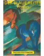 Der Blaue Reiter - 6 Posters - Brigitte Hilmer