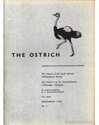 The Ostrich Vol. XXXIV. No. 4. 1963 (A strucc 34. évf. 4. szám 1963) - Broekhuysen, G. J. (szerk.)