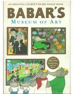 Babar's Museum of Art - Brunhoff, Laurent de