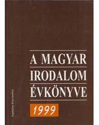 A magyar irodalom évkönyve 1999 - Buda Attila