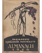 Budapesti Újságírók Egyesülete - Almanach 1916