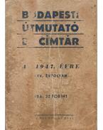 Budapesti útmutató és címtár