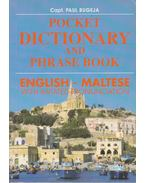 Pocket Dictionary and Phrase Book - English-Maltese - Bugeja, Paul