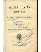 Magyar-latin szótár - Burián János