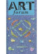 Art forum 2015-2016 - Butak András