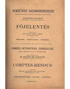 Nemzetközi Gazdakongresszus 1896 I.-II. - Rodiczky Jenő Dr.