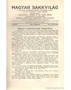 Magyar sakkvilág 1934 (teljes évfolyam) - Tóth László