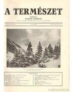 A természet 1930. XXVI. évf. (teljes) - Nadler Herbert