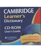 Cambridge Learner's Dictionary + CD-rom