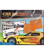 Car Racing Stencil Book