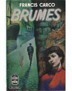 Brumes - Carco, Francis