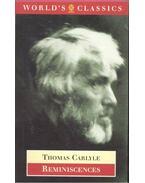 Reminiscences - Carlyle, Thomas