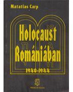 Holocaust Romániában - Carp, Matatias