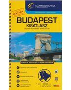 Budapest autóatlasz 1:20 000 (kicsi) - Cartographia