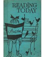 Reading Today Book One - Cedric Austin