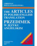 The articles in Polish-English translation / Przedimek w języku angielskim - Christian Douglas Kozlowska
