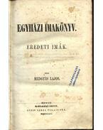 Egyházi imakönyv - Medgyes Lajos