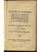 Adomák és veszemék XIII-XVI. füzet - Dvorzsák János