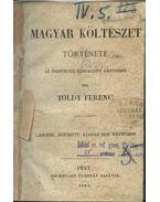 Magyar költészet története - Toldy Ferenc